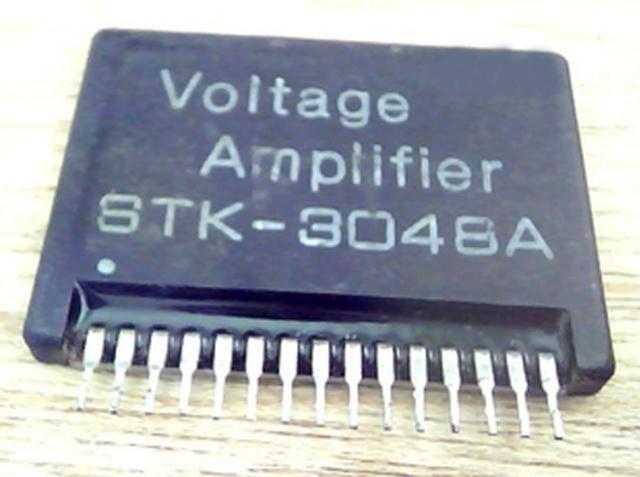 下面是[stk3048a和两块高保真功放集成电路stk