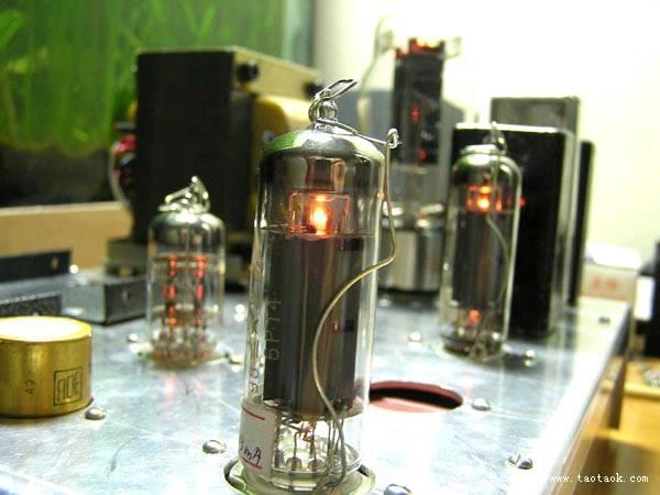 styaks制作的12au7推6p14电子管耳机放大器耳放胆机