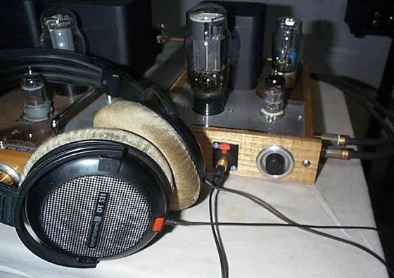 6n11)推动的6n5p耳机放大器胆机耳放