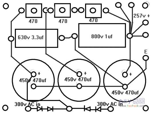 自己动手制作12at7+6v6(6p6p)电子管音频放大器胆机