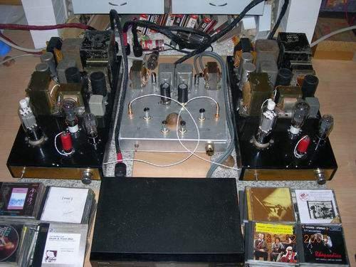 年终总结 我的805电子管单端胆机图片