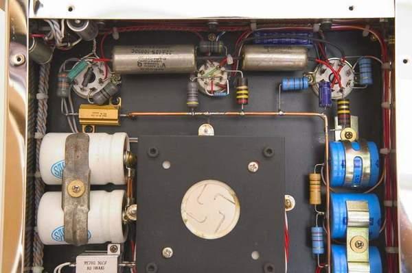 色胆浪人兄的805电子管分体单端胆机图片