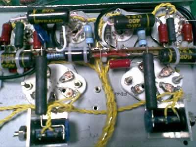 2j27s+4p1s+fd422电子管单端胆机开工了