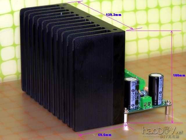 哈佛xl-280功放声道电路版接线图