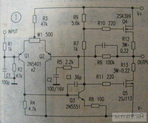 新手分立元件功放电路教程(熟手和高手可以略过)