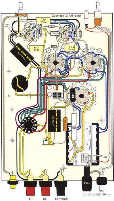 电子管差分倒相电路