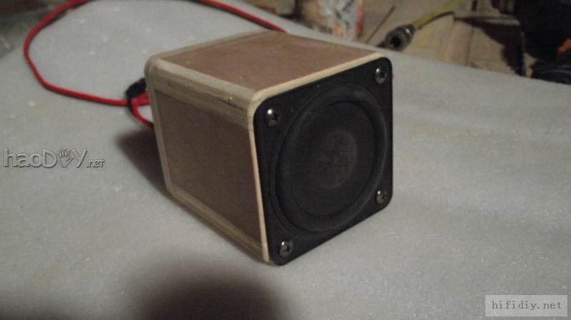 对2寸3寸小全频喇叭制作音箱过过瘾(附diy箱体图纸)