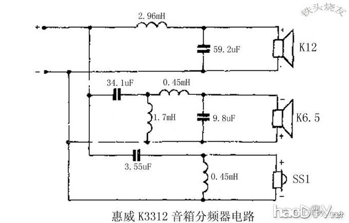音箱体 分频器diy制作图纸资料