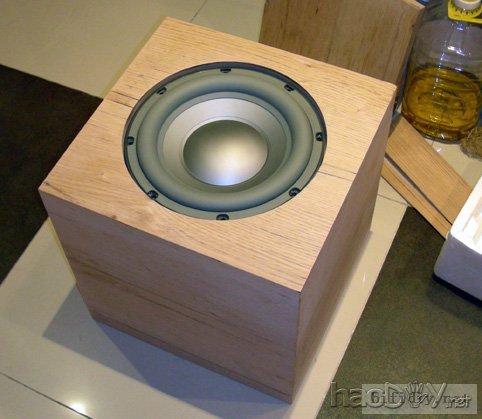 diy家庭影院10寸低音炮音箱(附制作图纸)