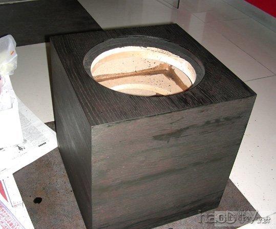 diy家庭影院10寸低音炮音箱(附制作图纸