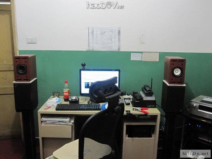 寸铝价钕磁超级全频喇叭装solo-103音箱试听(附图纸)