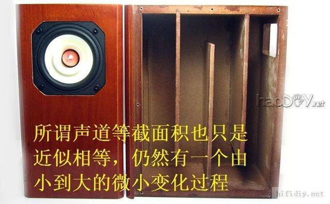 4寸全频喇叭 迷宫音箱声道长度设计原理附图纸