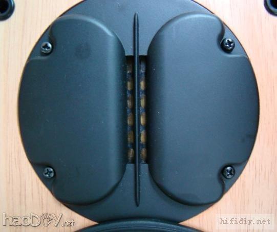 我的diy制作惠威m1实木书架音箱附分频器图