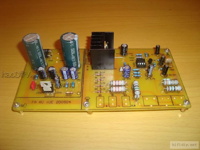音箱分频器接线
