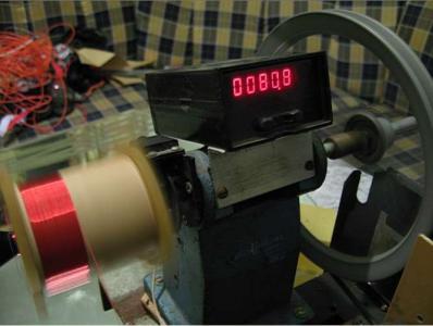 绕制作变压器的超级绕线机diy制作