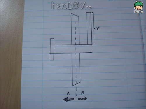 制作diy纸飞机 手工制作迷你滑翔机的教程图解