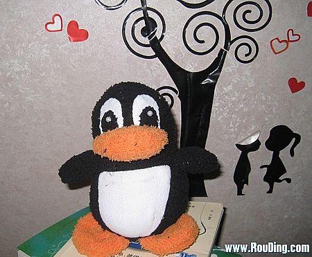 非常憨厚可掬的小企鹅的做法