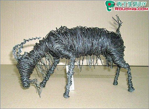 diy铁丝手工制作作品:铁丝缠绕的艺术