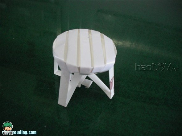 diy一次性纸杯做凳子:用纸杯制作田园小装饰