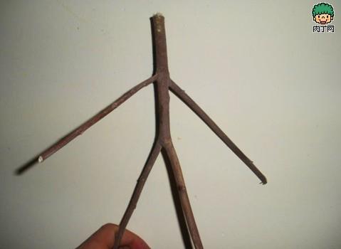 diy树枝废物利用 树枝桌等树枝家居装饰手工制作