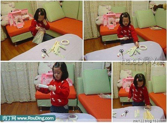 制作簡約時尚的一次性筷子做相框diy作品