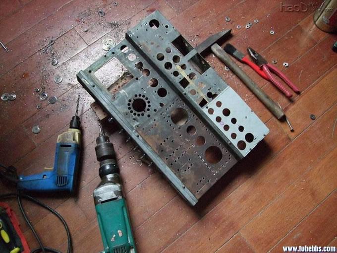电子管调幅--调频(立体声)收音机圆满完成