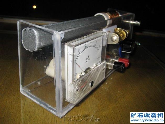 简单的粗磁棒矿石收音机