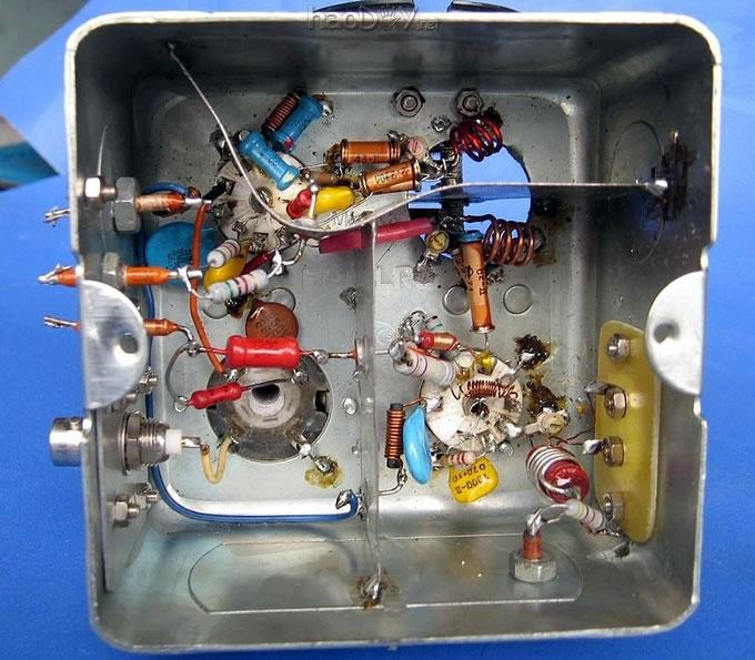 diy制作6N3 6F2电子管调频胆收音机高频头