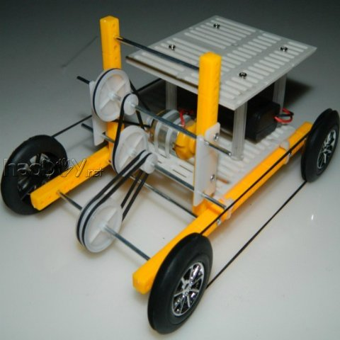 diy玩具科技小制作风力小车