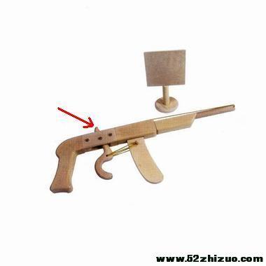 制作橡皮筋玩具枪_haodiy中国音响电子电脑科技diy