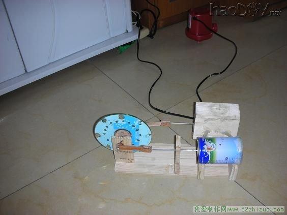 我制作的蒸汽机_diy电子音响科技电脑制作_haoDIY