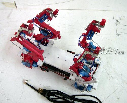 12自由度四足机器人