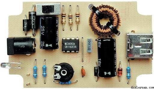 手机和ipod的电池充电器电路