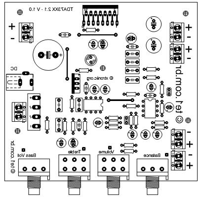 tda7377制作的2.1声道立体声重低音2×12w加37功放