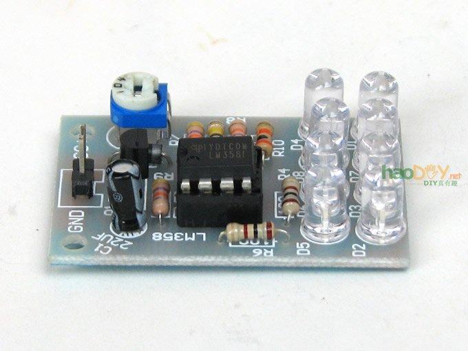 lm358呼吸灯 电子diy趣味制作
