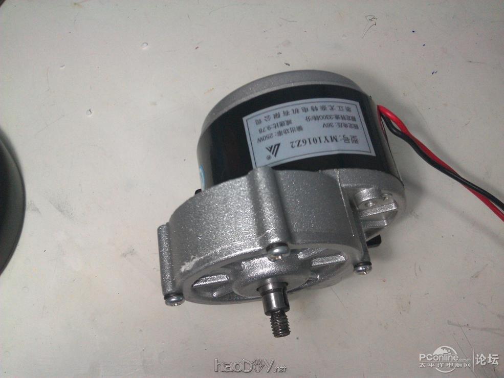一个准初中生diy手摇发电机充电
